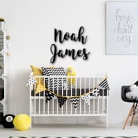 60 First & Middle Name Signs