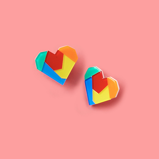 Heart Earring Collection