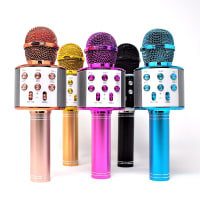 Bluetooth Wireless Karaoke Microphone (5 color options)