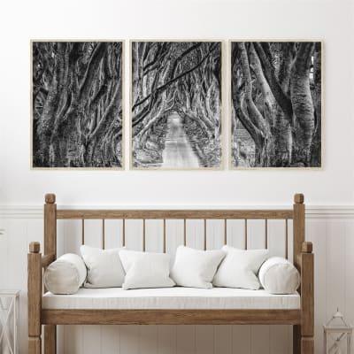 3-Piece Autumn Gorgeous Artisan Quality Paper Art Print Sets (8 Sizes)