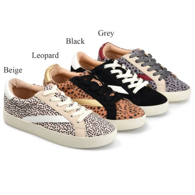Jane Comfy Chic Patterned Sneakers