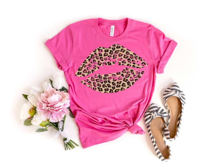 Leopard Lips Tees | Jane