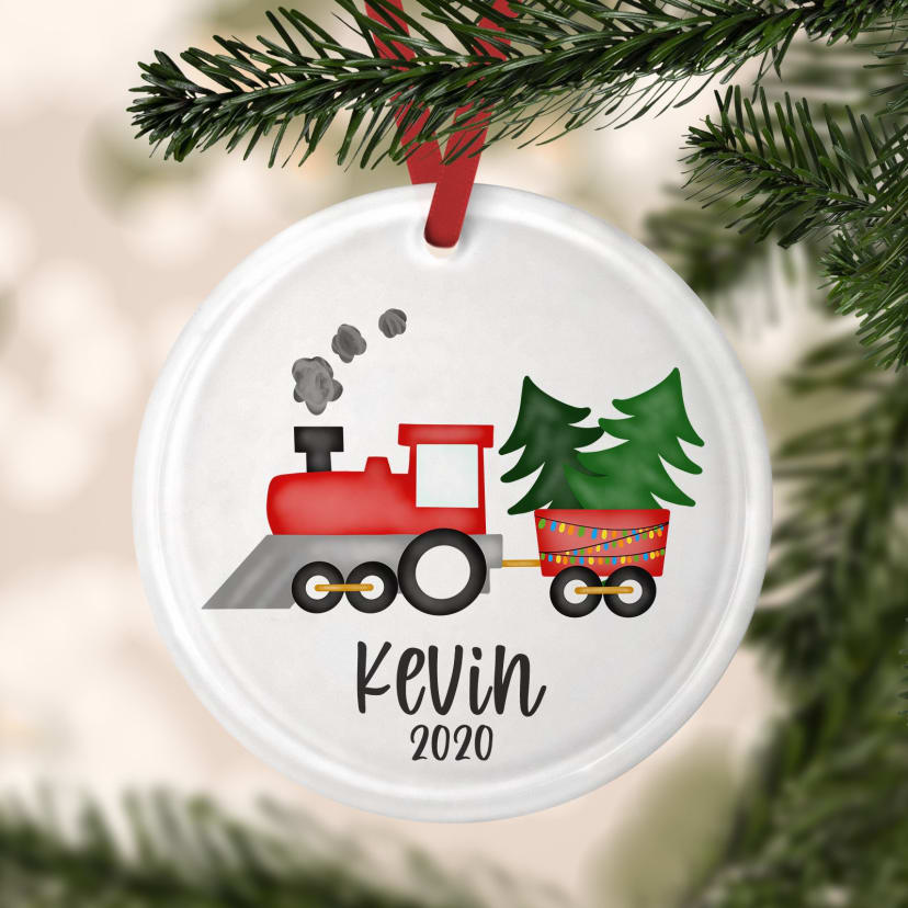 Personalized Christmas Ornaments Jane