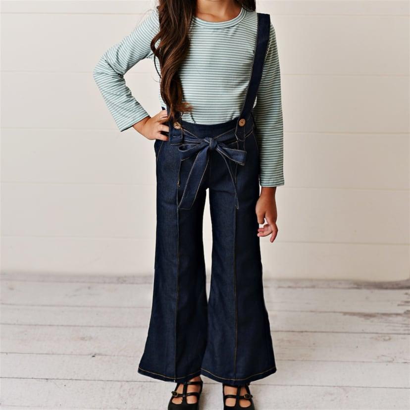 Girls Suspender Pant Sets | Jane