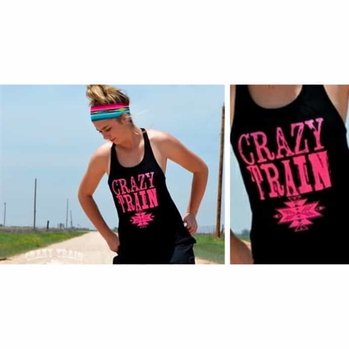 Crazy Train Tank About it Tank Tops