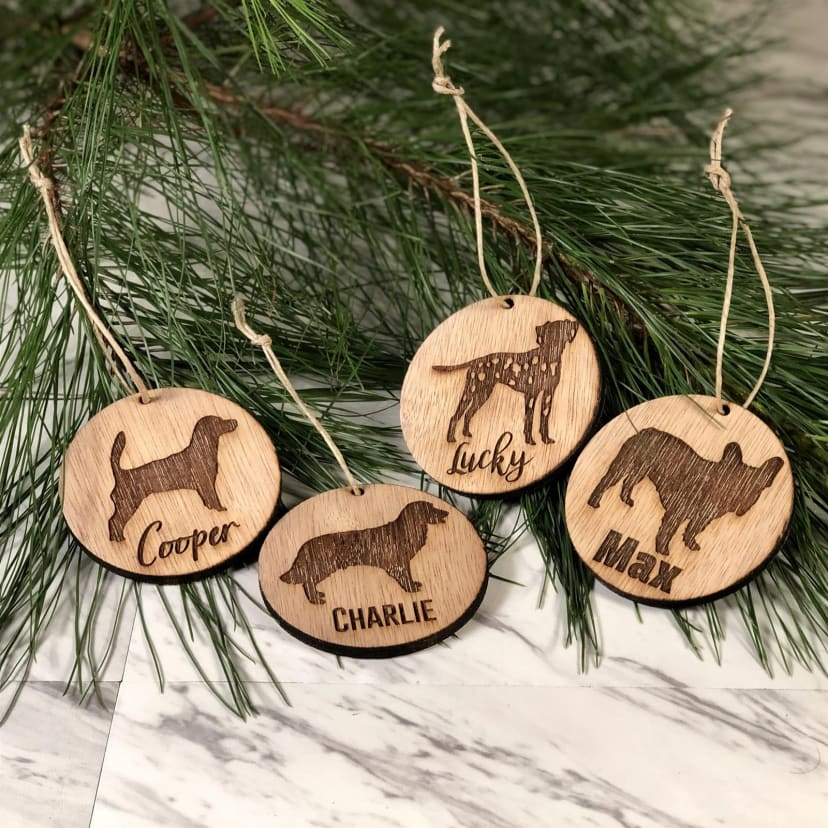 Ibizan hound dog ornament custom