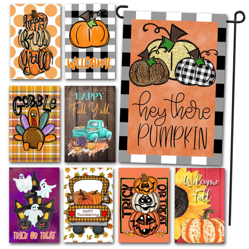 Double Sided Garden Flags   Jane