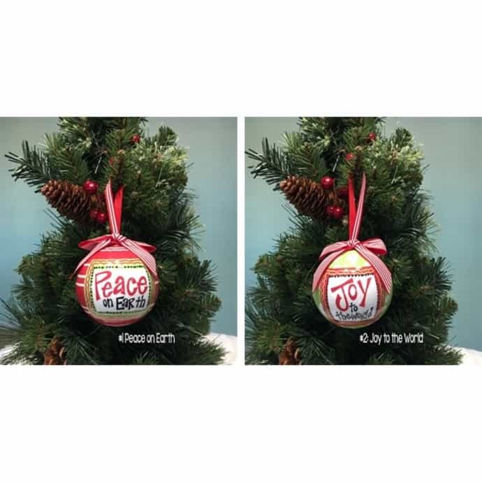 Whimsical Christmas Ornaments.Whimsical Christmas Ornaments 5 Styles