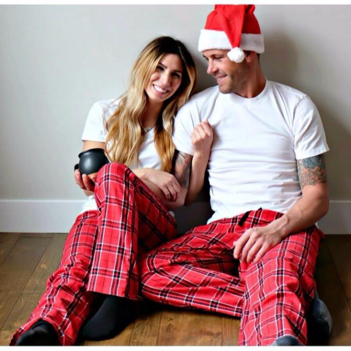 Christmas Pajamas.His Hers Flannel Christmas Pajamas Xs 2x
