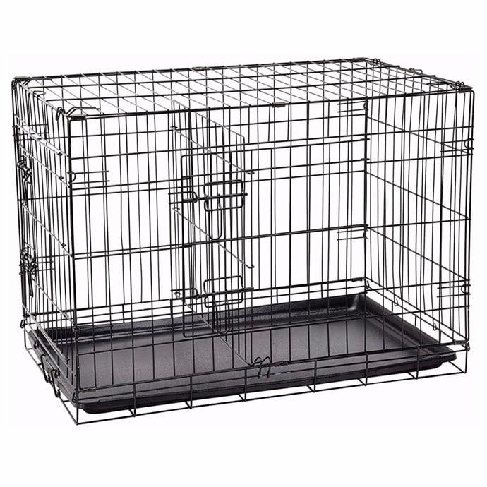 30 Double Door Folding Pet Cage