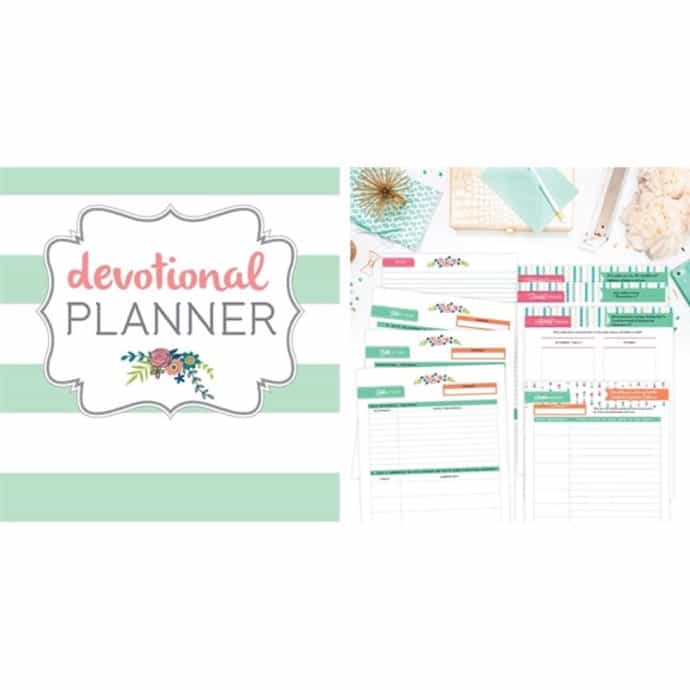 graphic regarding Printable Bible Study Guides named Bible Research / Devotional Planner Printable Preset