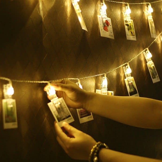 reputable site 1a139 329de LED Clip String Lights