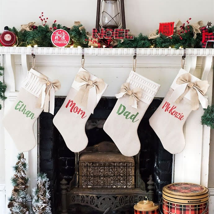 Personalized Christmas Stockings.Personalized Christmas Stockings
