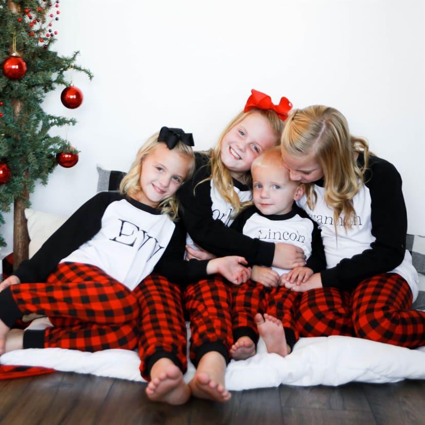 Christmas Pajamas.Personalized Christmas Pajamas