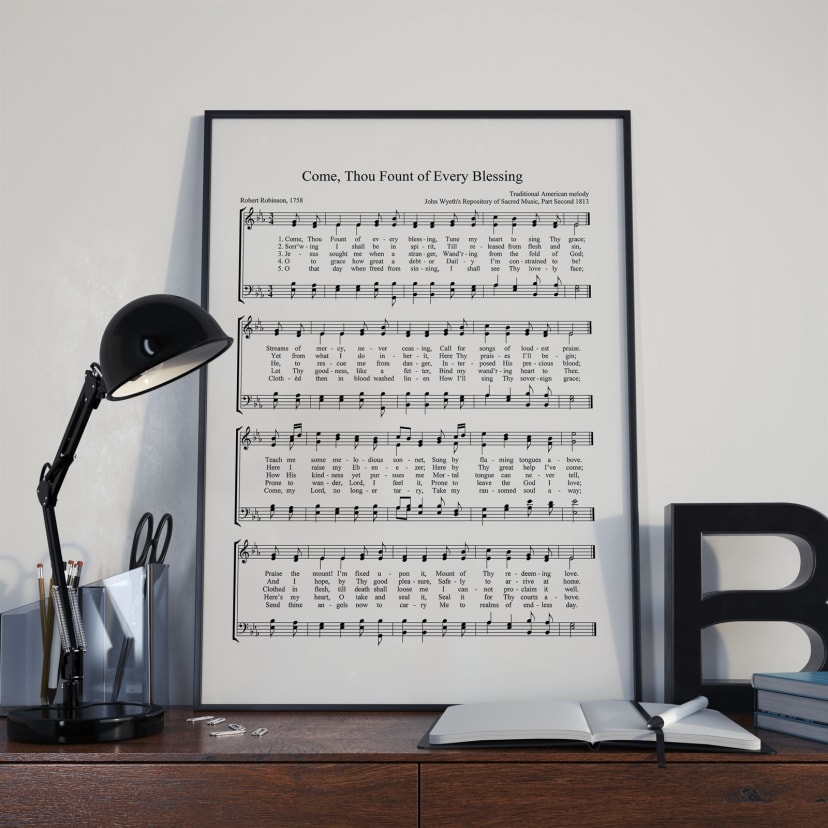 picture about Printable Hymns Sheet Music identified as Choir Hymn Sheet Songs Art Electronic Obtain