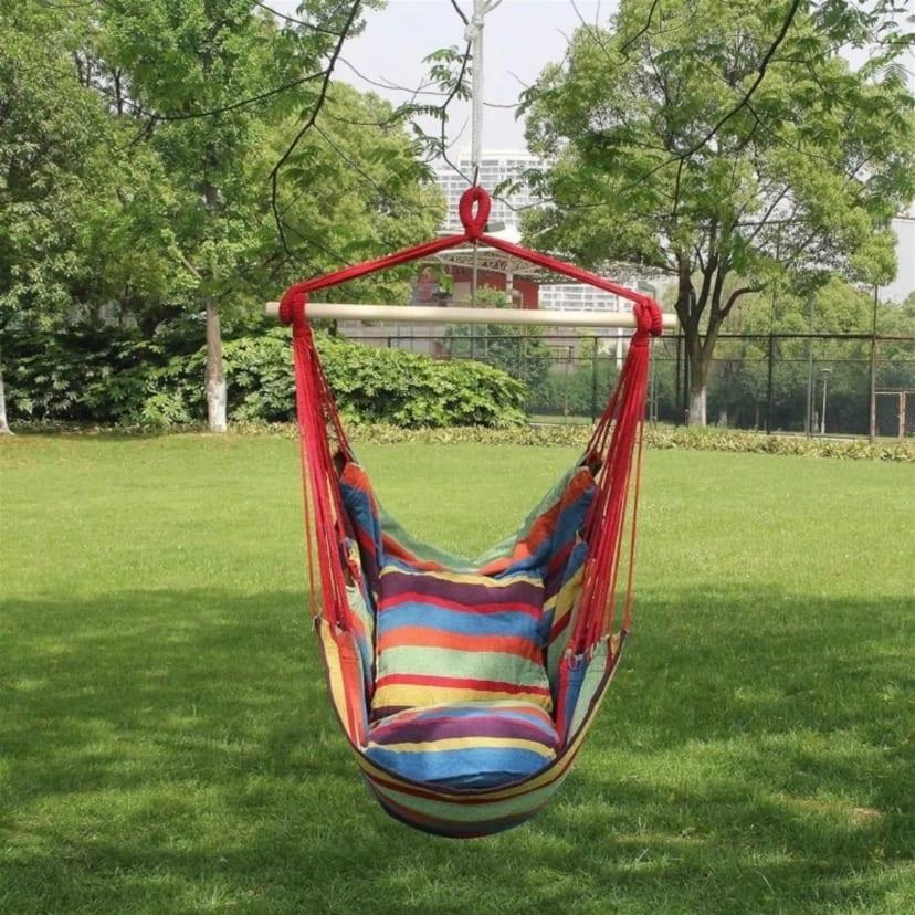 Hanging Hammock Chair Double Cushion Seat Jane