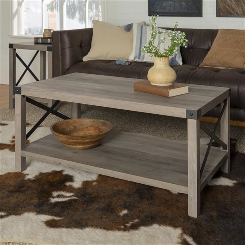 Surprising Modern Farmhouse Coffee Table Free Shipping Pabps2019 Chair Design Images Pabps2019Com