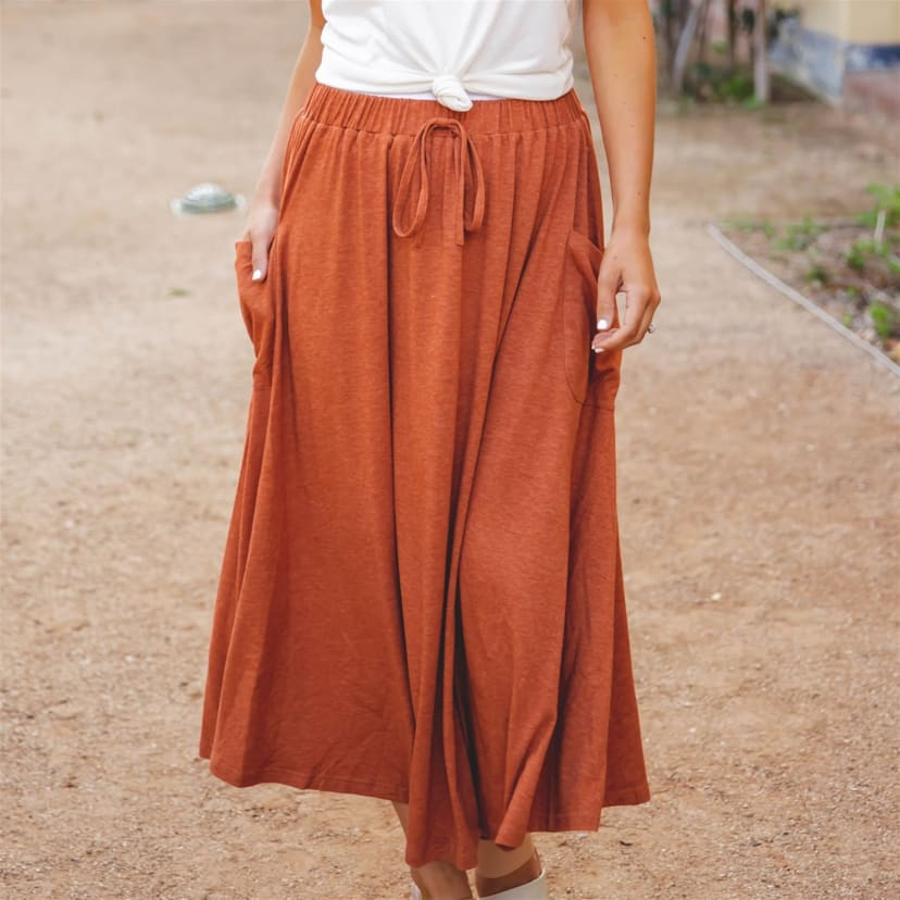 The Olive Pocket Skirt