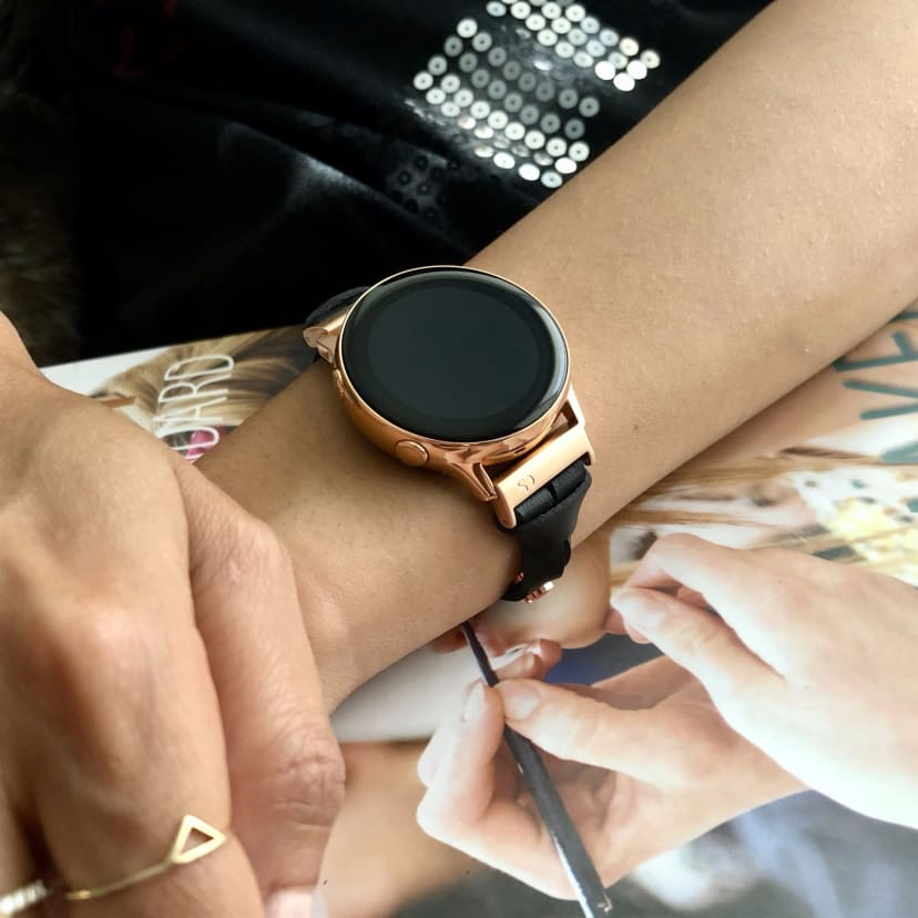 Samsung Galaxy Watch Leather Band
