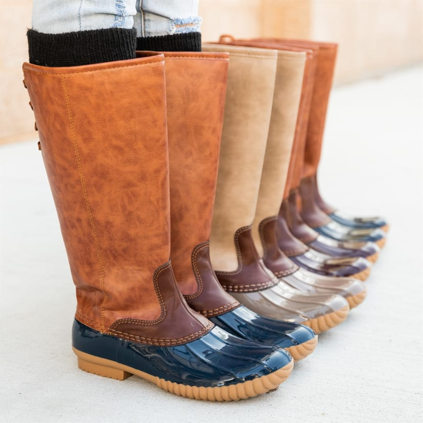 Chic Tall Duck Boots | Jane