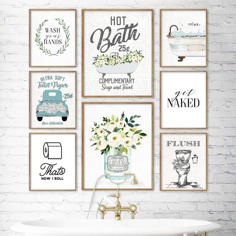 Bathroom Art Prints Jane