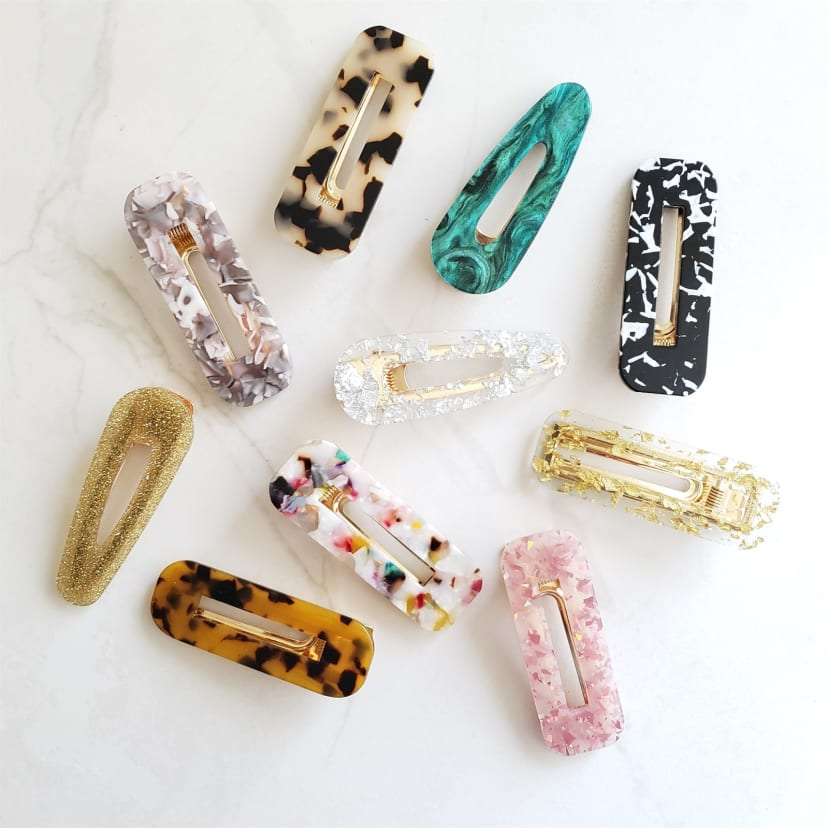 6 sparkly hair strong metal Crocodile clip Last for ever I had mine I for years