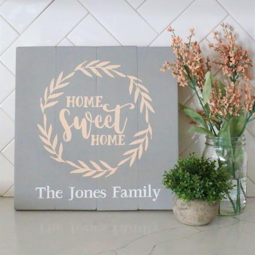 Custom Farmhouse Home Signs Jane