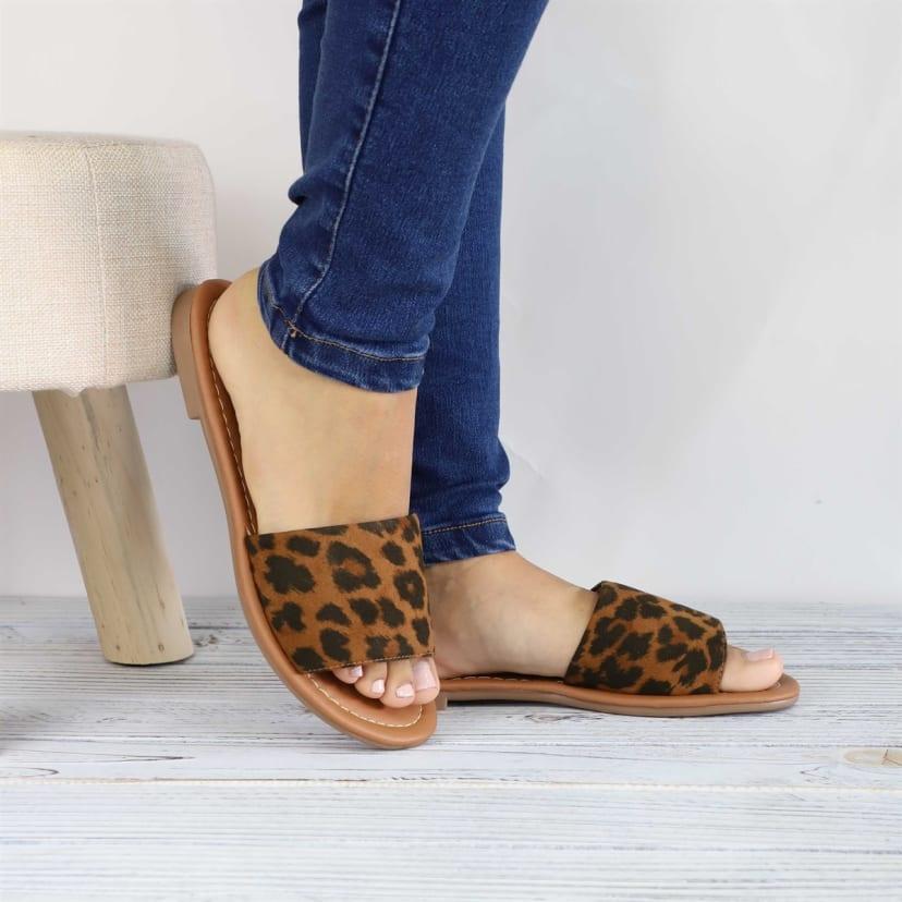 Trendy Slip-On Sandals | Jane