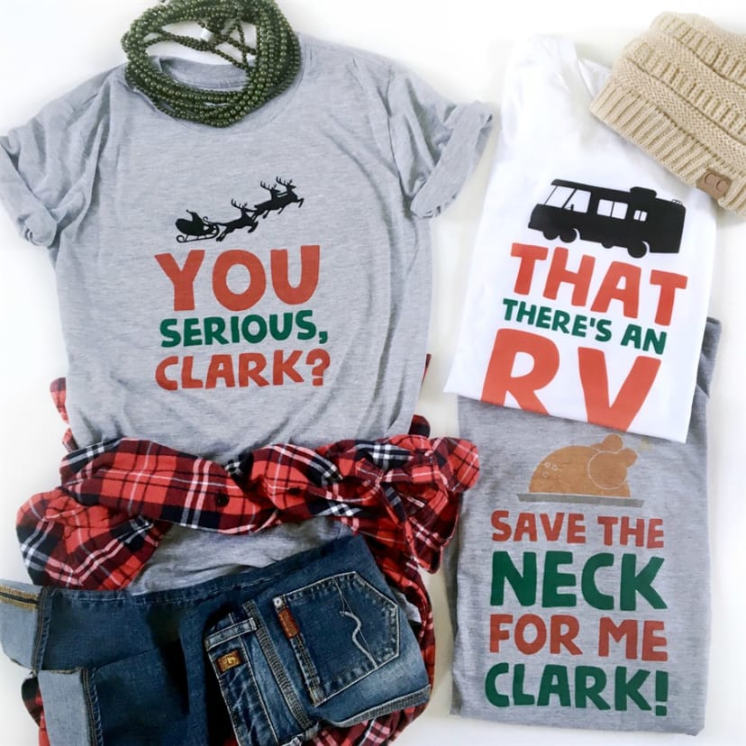 Christmas Vacation Shirts.Christmas Vacation Tees For The Family