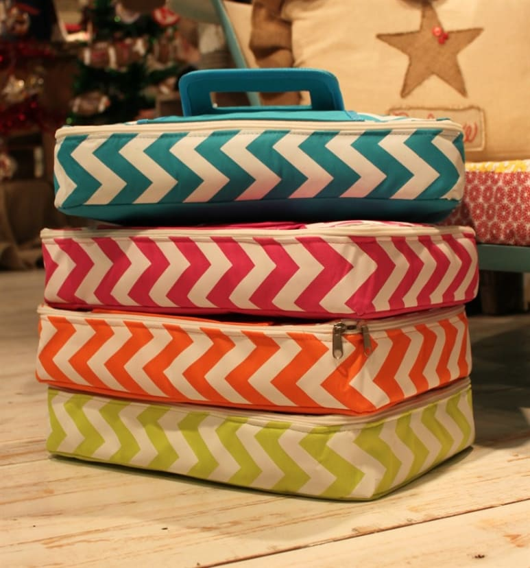 Must Have Round and Rectangular Insulated Casserole Carriers!