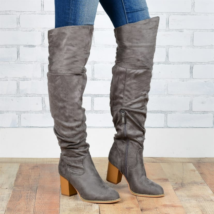 Over The Knee Boots For Large Calves