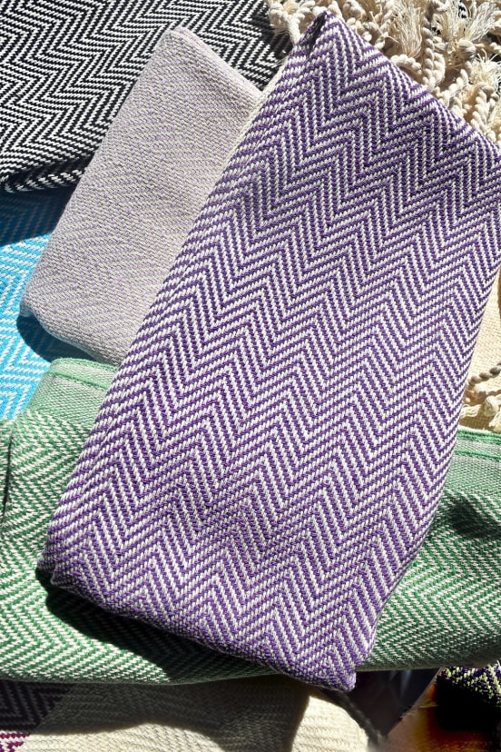 Hand Loomed Turkish Kitchen Towels 100 Organic Cotton Jane