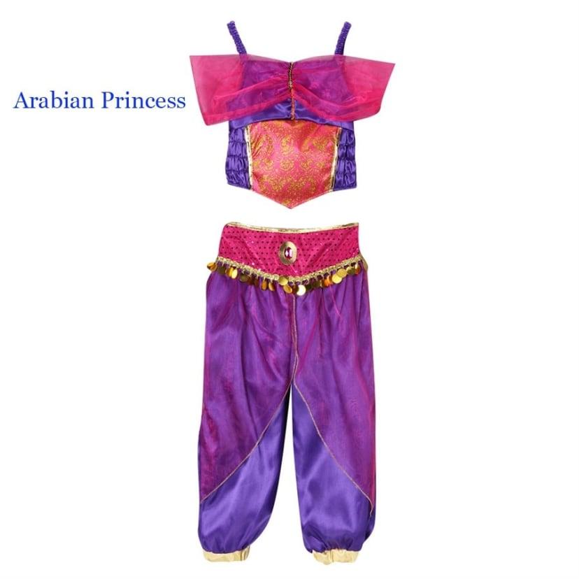 Choose Size Storybook Wishes Purple Arabian Princess Dress Up Costume