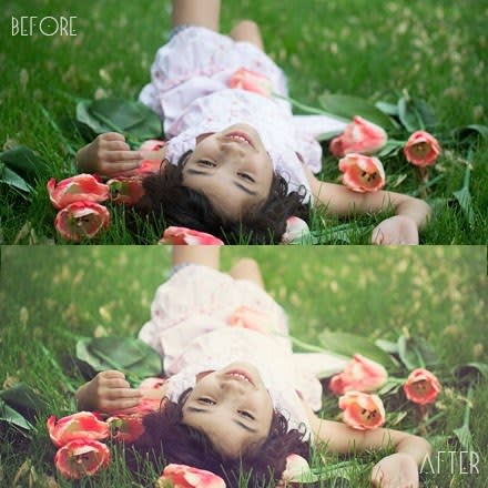 A PHOTOGRAPHERS DREAM! Clean & Airy Photoshop actions editing collection  FREE tutorial!