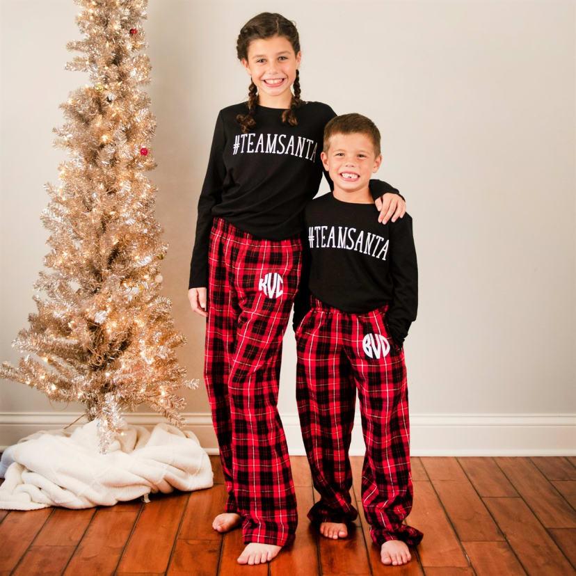 Christmas Pj.Monogrammed Christmas Pj Pants