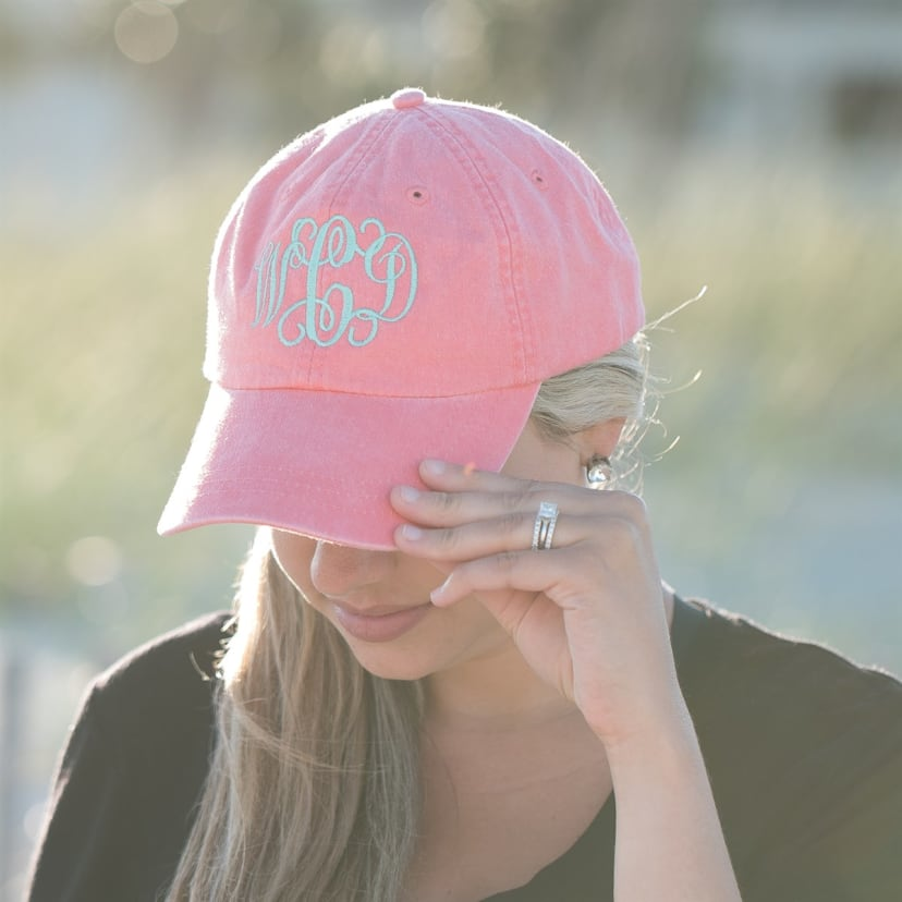girls baseball cap cloud 9 pink