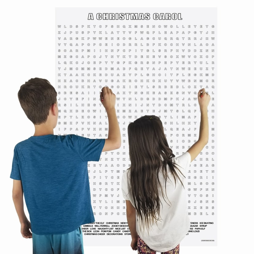 Giant Holiday Word Search Crossword Puzzles Jane