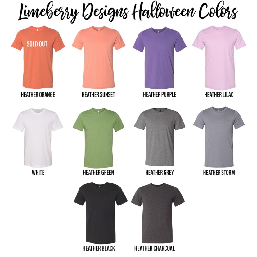 Funny Witch Tees 6 Designs Jane