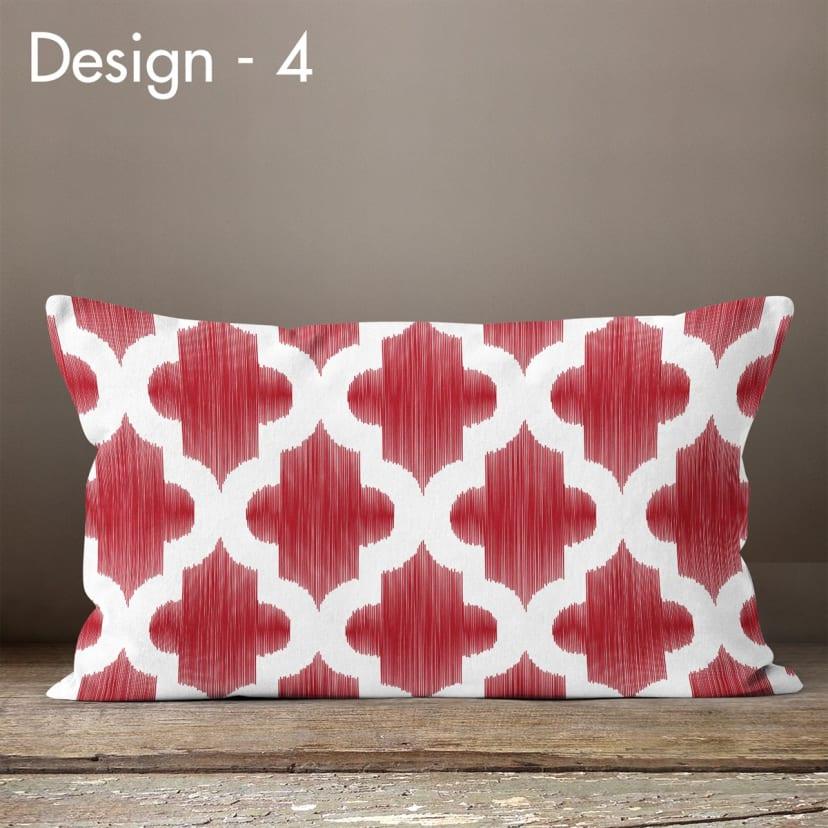 Farmhouse Chic Lumbar Pillow Covers Jane