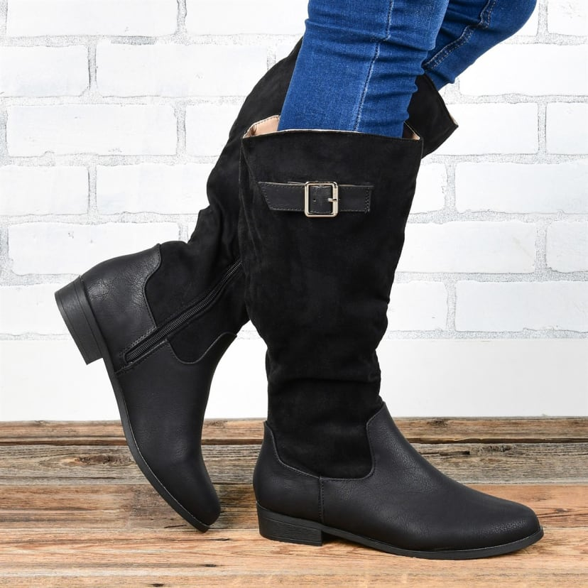 Tone Riding Boots   Wide Calf Options
