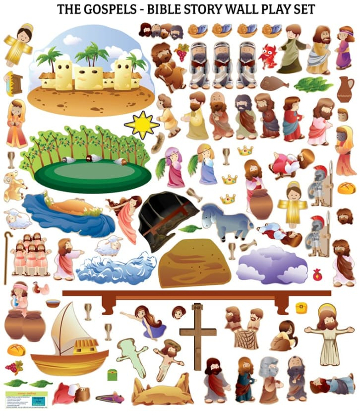 The Easter Bible Story Wall Decals Gospels Jane