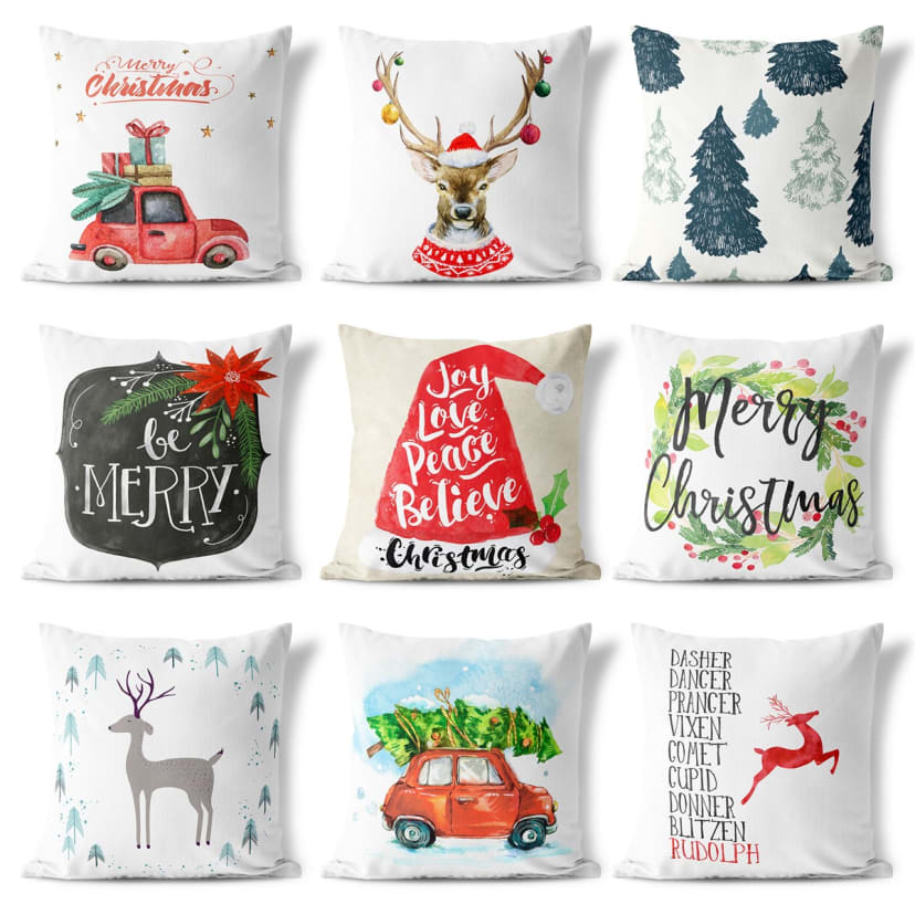 Christmas Pillow Cover Collection Jane