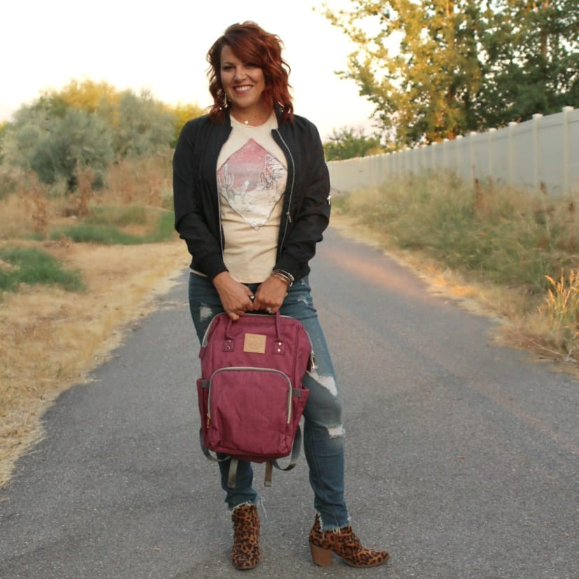Carry-All Mom Backpack | Diaper Bag