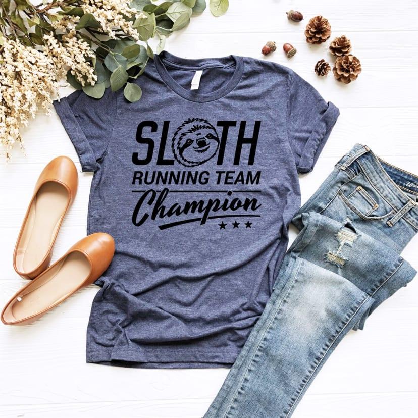 Sloth Running Team Jane