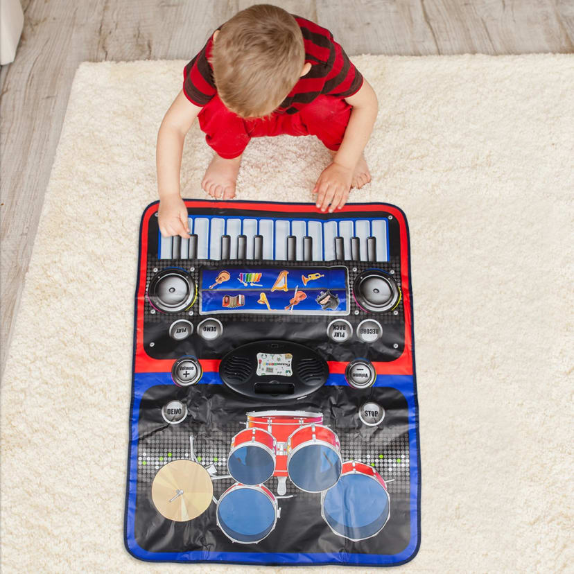 NEW Picasso Magnet Tiles 2 In 1 Drum /& Piano Music Play Mat Toy Ages 3