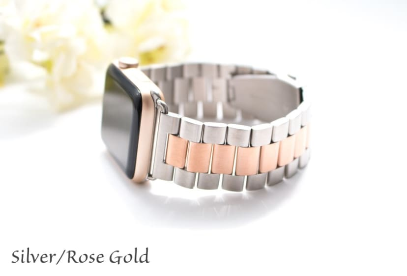 Stainless Steel Apple Watch Band Jane