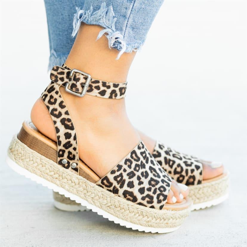 Trendy Espadrille Sandal Flats| 7+