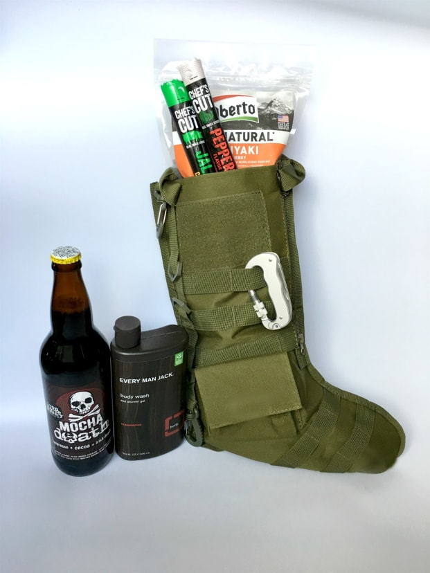 Tactical Christmas Stocking.Tactical Molle Christmas Stocking