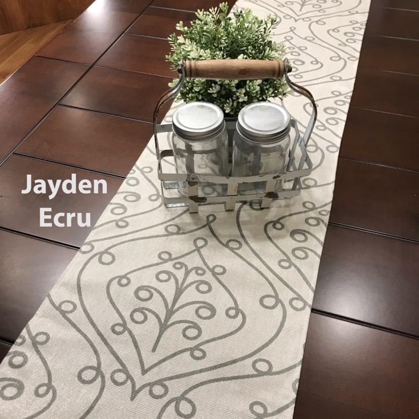 Modern Farmhouse Table Runner Jane
