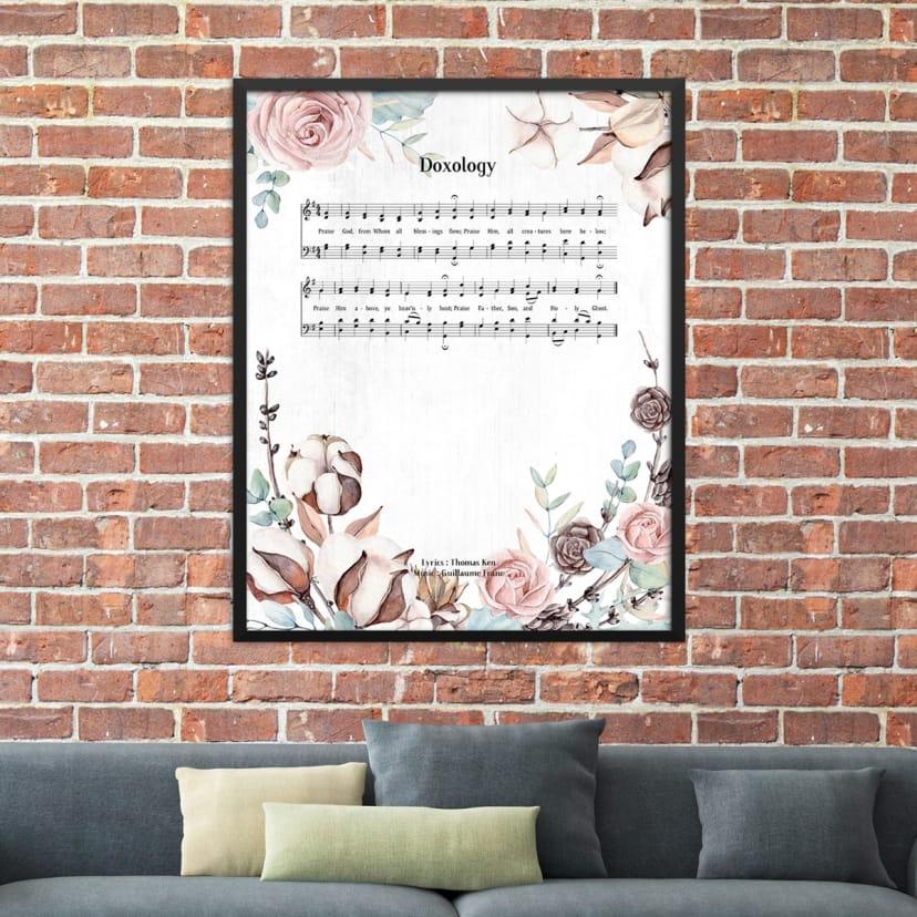 Hymn Celebration Art Prints | 4 Sizes